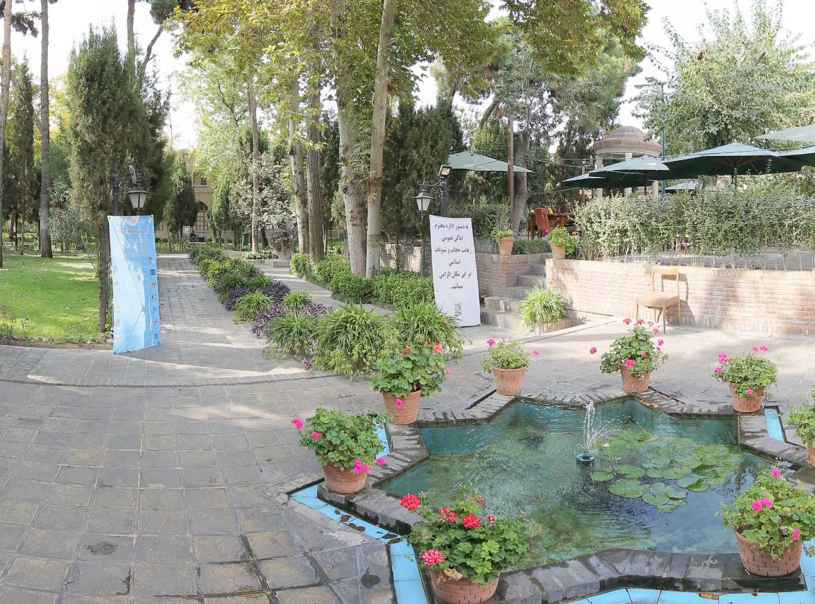 تور مجازی باغ موزه نگارستان