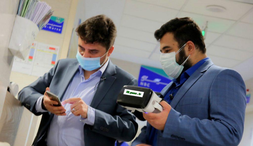 زیارت مجازی کادر درمان ارتش -بیمارستان گلستان نداجا