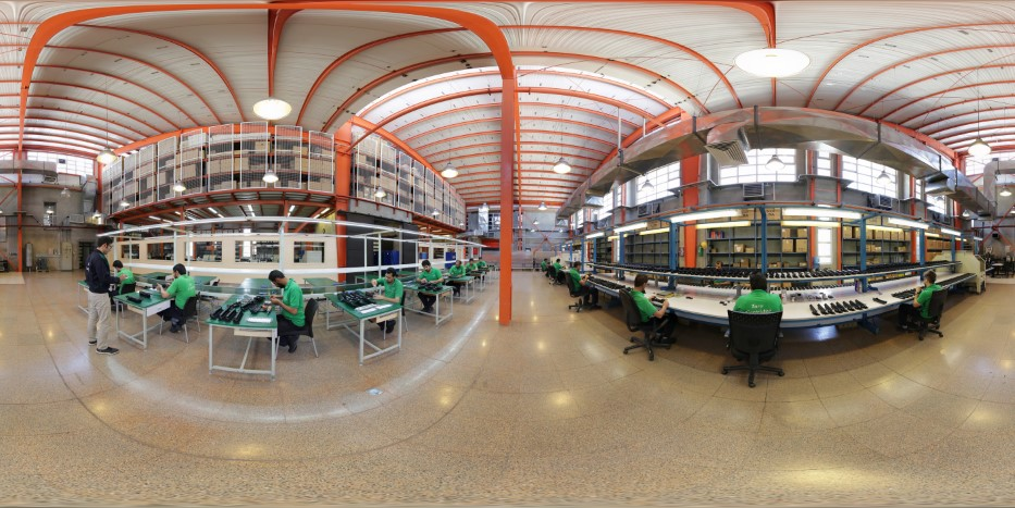 تور مجازی کارخانه تولید کارتریج